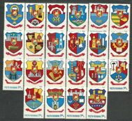 Coats of arms of cities in Romania