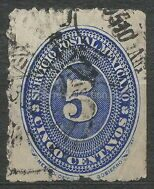 Postal currency 5 sentavos