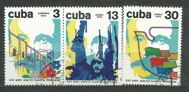 The war events in Cuba