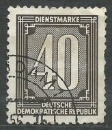 Postal currency 40 marok